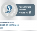 Awardgreen Award 87 awarded to The Port of Hirtshals, Denmark