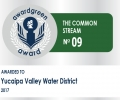 Awardgreen Award 09 awarded to Yucaipa Valley Water District