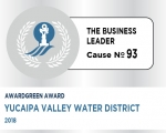 Awardgreen Award 93 awarded to Yucaipa Valley Water District