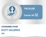 Awardgreen Award 52 awarded to Scott Goldman