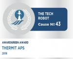 Awardgreen Award 43 awarded to ThermIT Aps