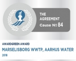 Awardgreen Award 84 awarded to Marselisborg Wastewater Treatment plant